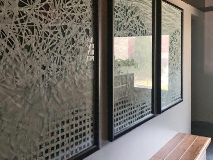 Custom Washi Art Frames