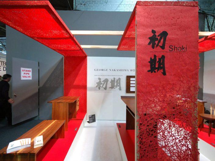 George Nakashima Shoki Collection Booth