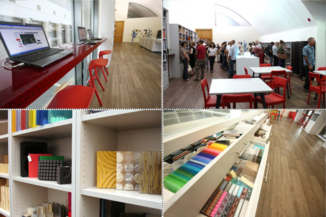 iMatter – the material library at Design Museum Holon, Israel