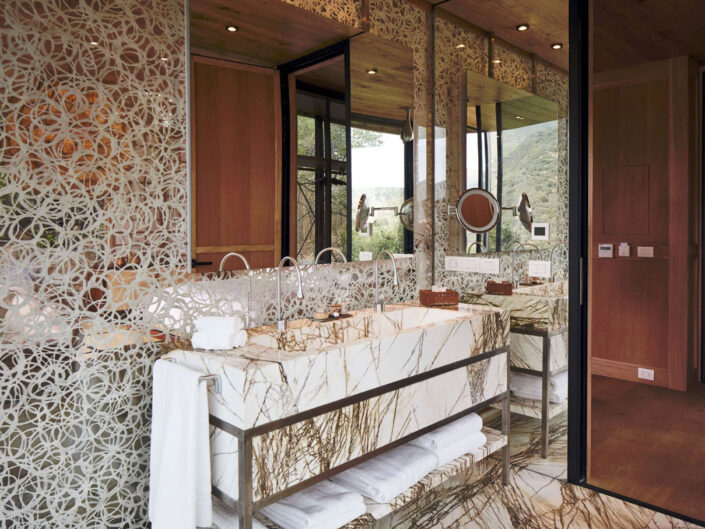 Washi For Glass House Hotel In Chile