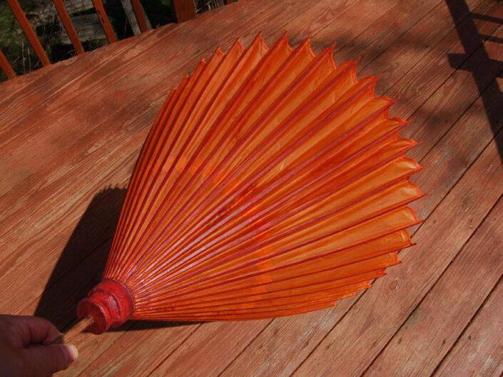 Wagasa – Japanese Style Paper Umbrella Restoration