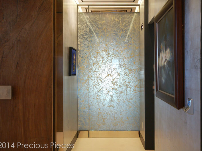 Phenomenal Glass Laminated Door at Trump World Tower at UN Plaza, NYC