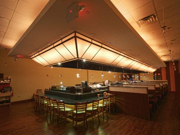 Unique Sushi Restaurant Restoration at Palisades Center